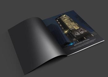 Centerspread-Brochure-design-elegant-towers-thumbnail