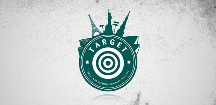 Centerspread-Target-Travels-logo-Design