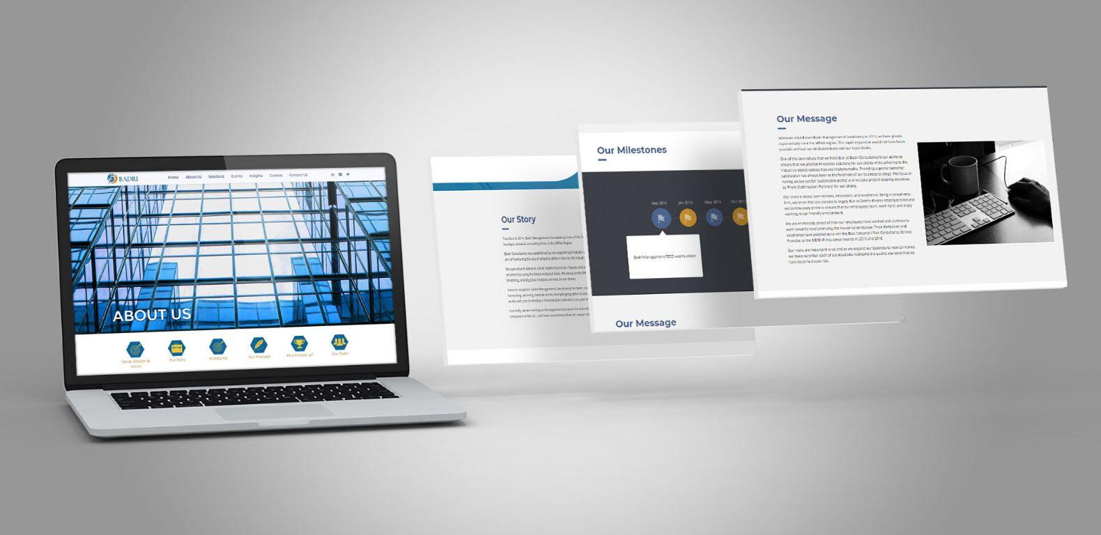 Badri-Consultancy-website-About-Us-design