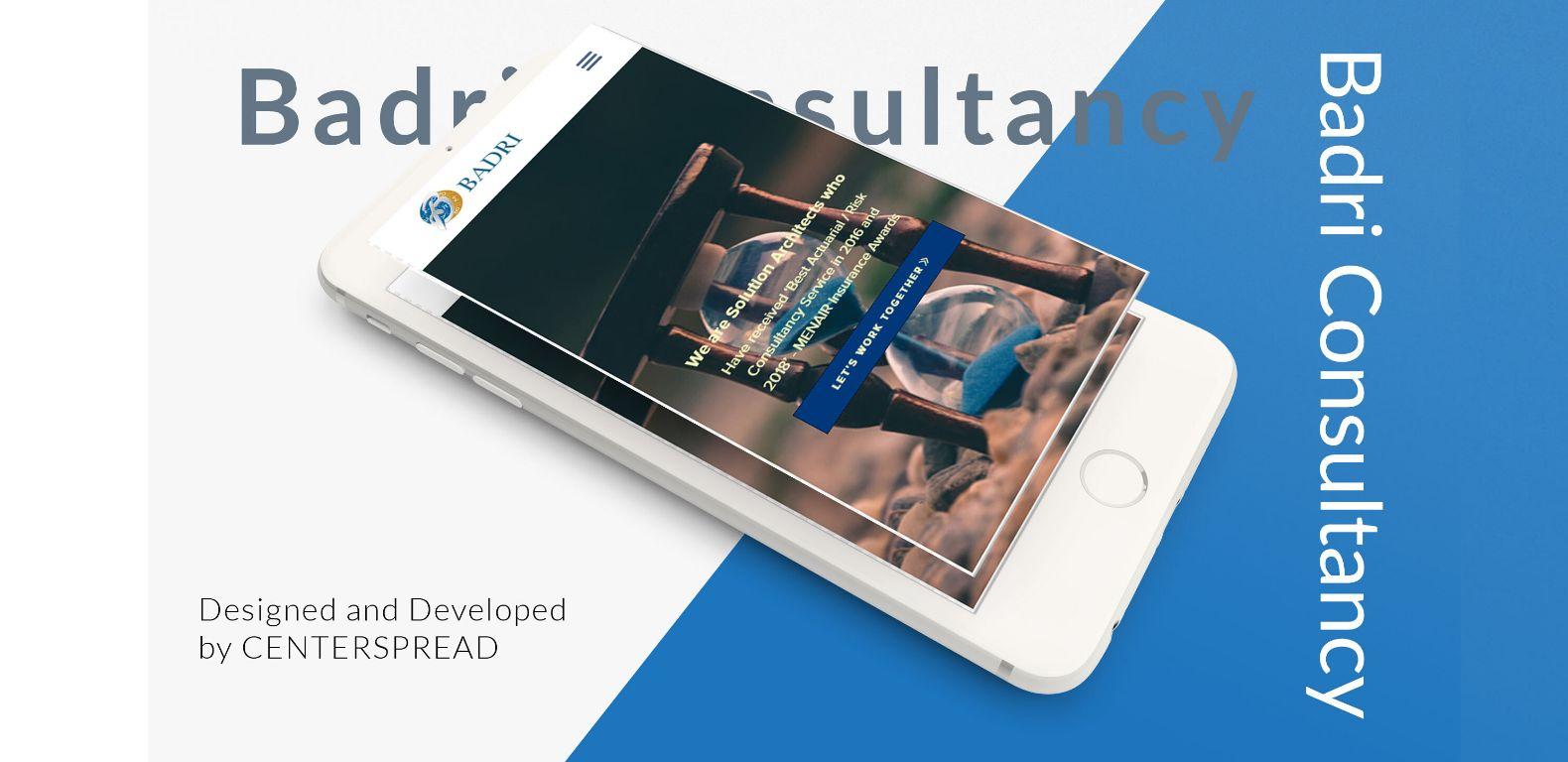 Badri-Consultancy-website-Mobile-version