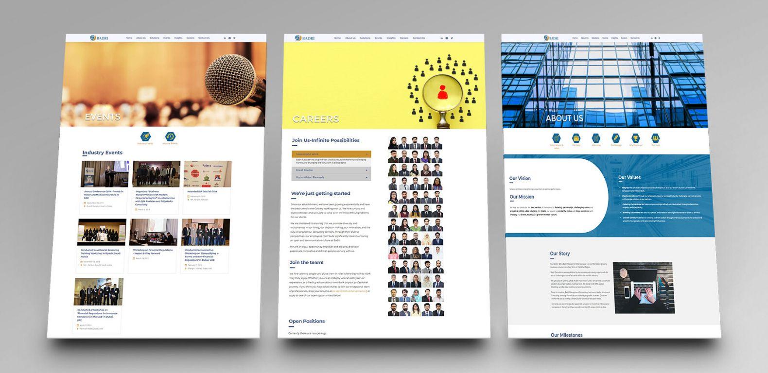 Badri-Consultancy-website-design-development.