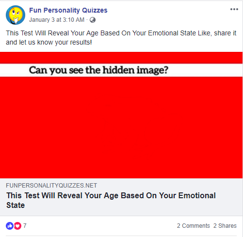 Engagement-for-social-media-personality-quiz
