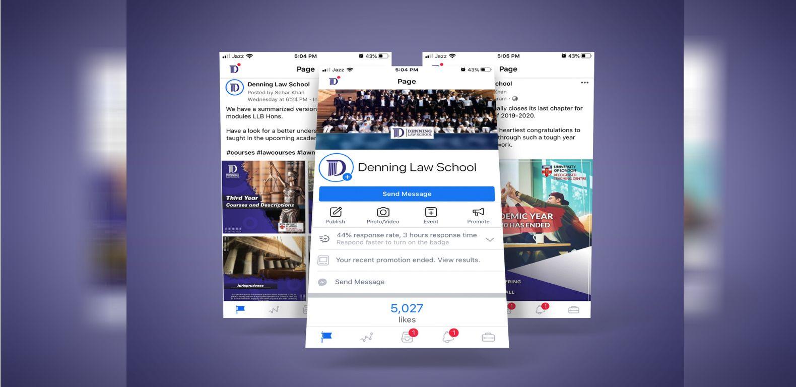 Social-media-marketing-Denning-law-School-Facebook