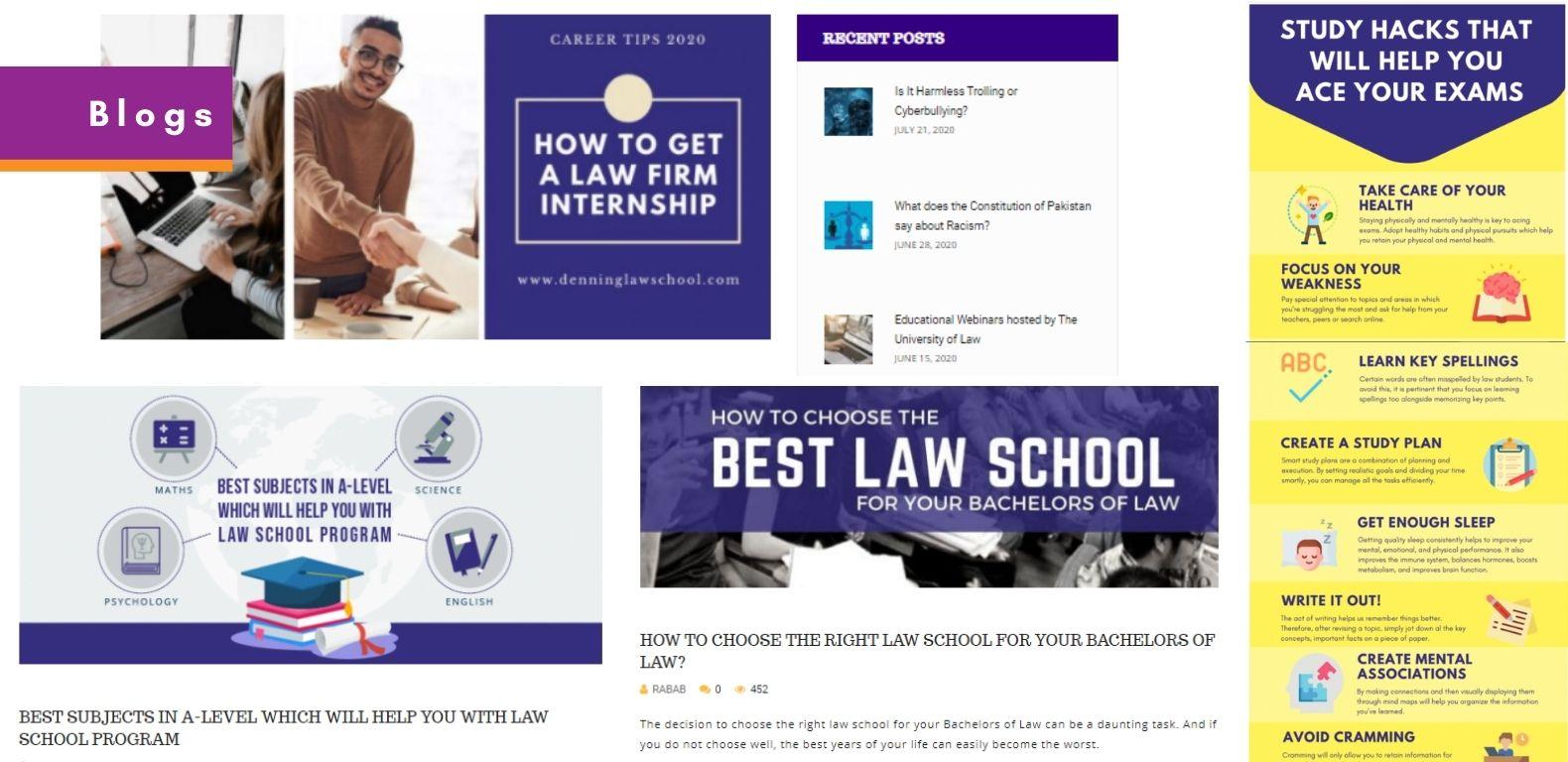 SEO-Denning-Law-School-Blog-Posts
