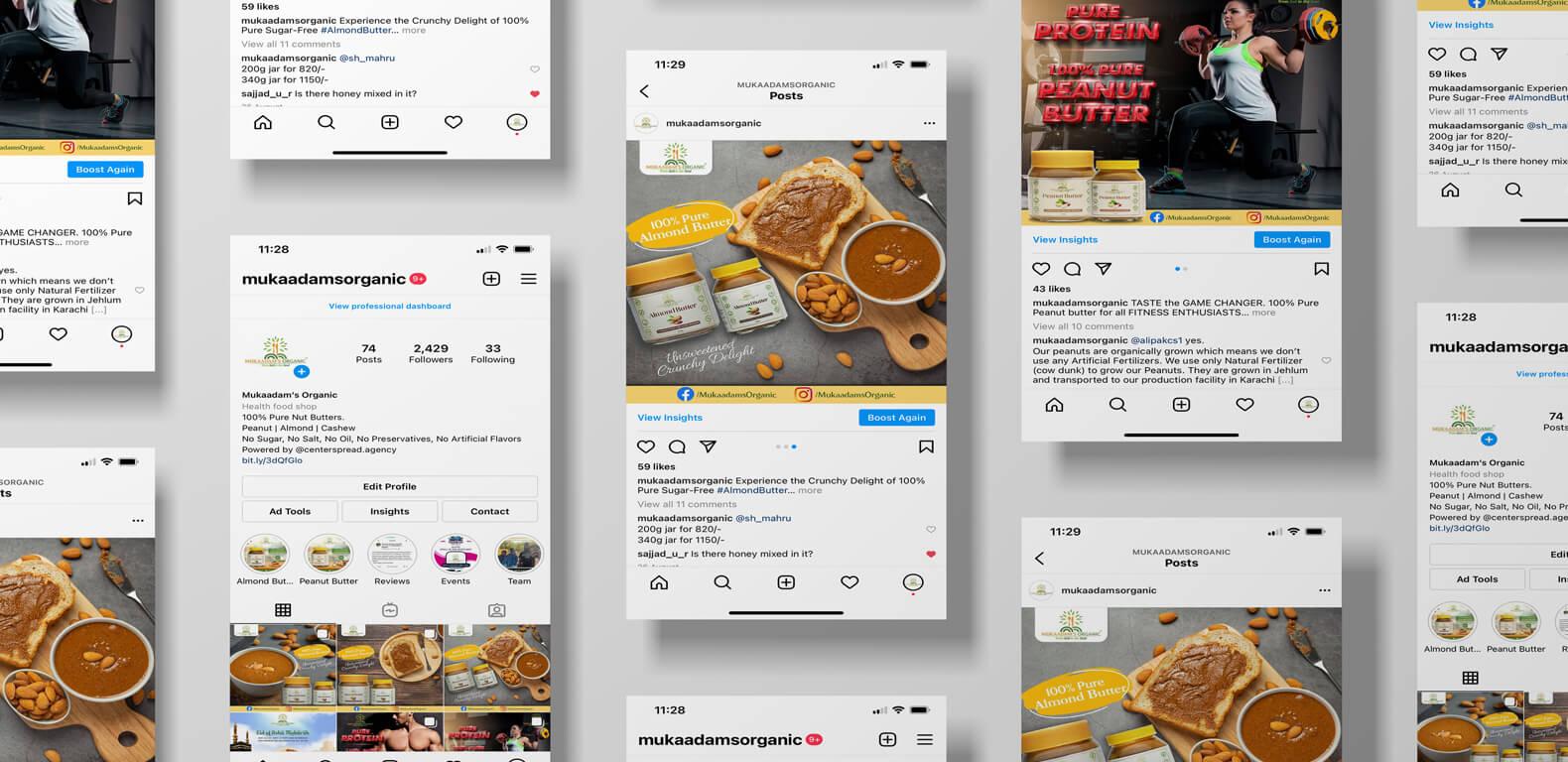 social-media-marketing-mukaadams-organic-Instagram-feed-1